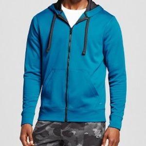 C9 Champion Tech Fleece Full ZIP Hoodie Blue